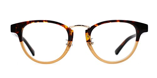 TIJN Mens Bookish Color Fade Clubmaster - Cheap Clubmaster Eyeglasses