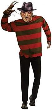 Partilandia Disfraz de Freddy Krueger para Hombre (XL): Amazon ...