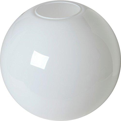 White Globe Acrylic 16'' Flush 5-1/4'' Opening
