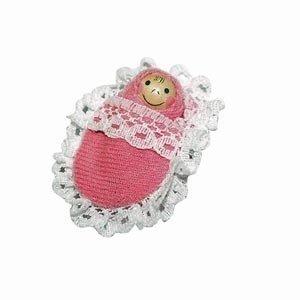 FROTa rosé Puppenhaus + Möbel 28 Teile + Hussen + Wiege + Familie mit Wechselkleider