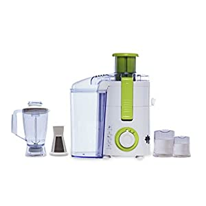 BMS Lifestyle 500FPN4 Raw Juice Machine 5 IN 1 Food Processor With 3 Jar And Fruit Filter Attachment Free (Pulp Juice…