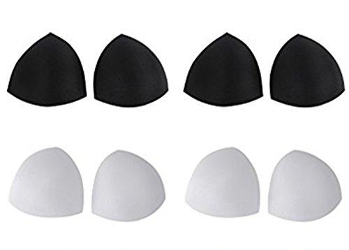 Removable Bra Inserts Sports Bra Pads Smart Cups Breathable Swimwear Padding 4 7 Triangle Shape 4 Pack Buy Online In Grenada At Grenada Desertcart Com Productid 55498122
