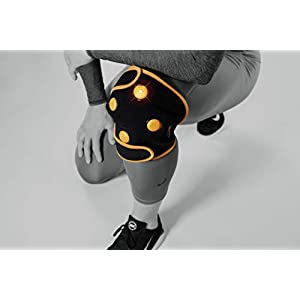 Myovolt Wearable Sports Recovery Technology for Knee, Calf & Quads – Vibration Massage Therapy for Sore & Stiff Muscles…