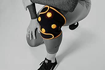 Myovolt Wearable Sports Recovery Technology for Knee, Calf & Quads - Vibration Massage Therapy for Sore & Stiff Muscles, Warm-up, Movement and Flexibility