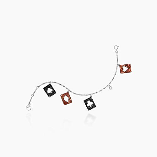 Love Environment Creative Bracelet Zircon and Copper Women Cute Design Charm Pendant Bracelet&Bangle Lady Fine Jewelry Accessories