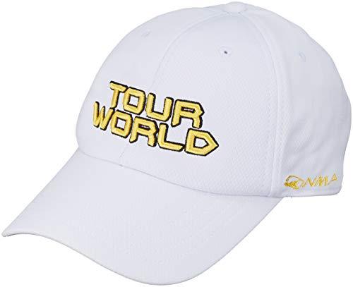 砲兵周術期乗算本間ゴルフ TOUR WORLD 831-419601 メンズ ホワイトイエロー FREE(57~59cm)