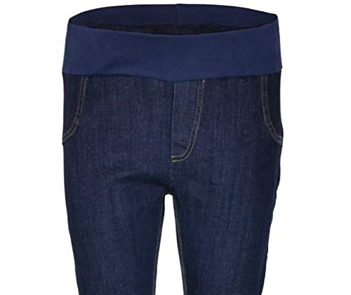 Stretch Denim Maternity Jeans Under Bump Regular Leg JEAUBR