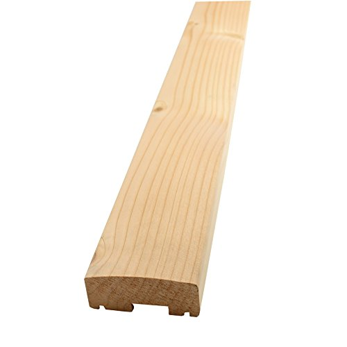 Handlauf für Holzbalkon (2 Stück) - Douglasie - 2090/4 (1980x90x40mm) haus-garten-versand.de