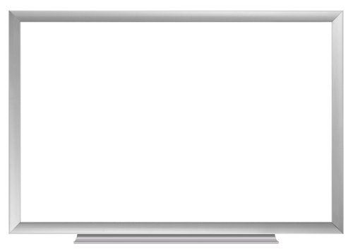 Board Dudes 24-Inch x 36-Inch Aluminum Framed Non-Magnetic Dry Erase Board