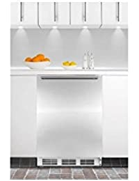 Summit CT66JBISSHH Refrigerator, Stainless Steel