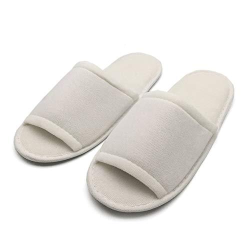 Unica Per Taglia Usa 20 Pantofole In Cotone Confortevole Getta Lss E Addensato L'hotel Infradito Paia PaqUUFO