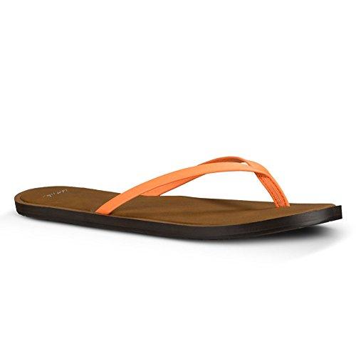 Sanuk Womens Yoga Venus Sandal Footwear Hot Coral