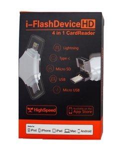 Zuvi Tech Z101 4 in 1 OTG Card Reader  White  External Memory Card Readers