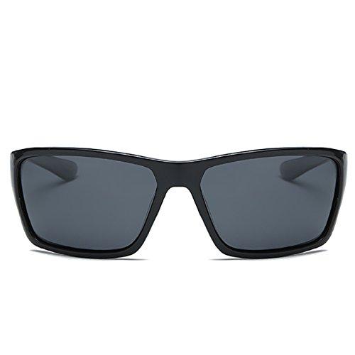Mode de Femme Lunettes Homme soleil Noir JULI Sport D2071 Classique Polarisées Fq7dXnx1wZ