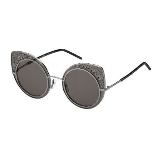 Marc Jacobs MJ Marc 15/S V81/NR Dark Ruthenium Black Frame Brown Grey Lens 62