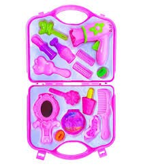 Ruhani Toys & Gift Gallery Beauty Set for Girls (Pink)