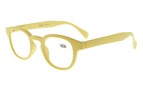 Eyekepper Stain Rainbow Reading Glasses (Yellow, 2.75)]()