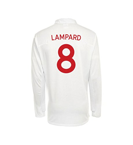 Umbro LAMPARD #8 England Home Jersey Long Sleeve (L) ()