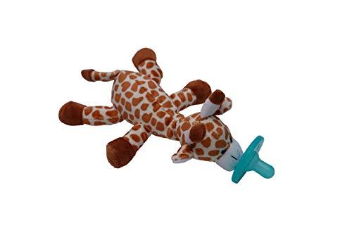 Baby Pacifier Holder | Soft Plush Newborn Toys | Animals for Kids | Soother | (Gabi Giraffe)