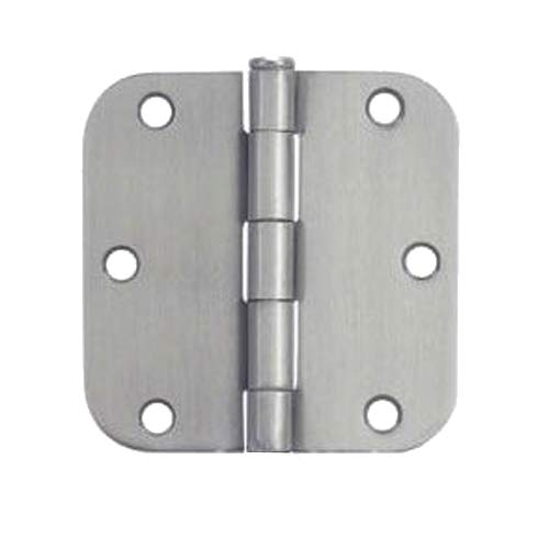 - 24 Pack - Cosmas Satin Nickel Door Hinge 3.5