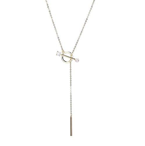 (Women Retro Wedding Jewelry Triangular Tassels Geometry Multilayer Pendant Chian Bar Alloy Sweater)