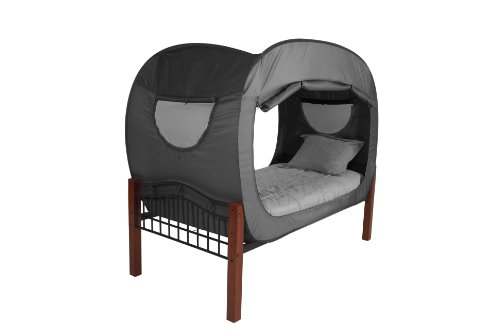 privacy pop bed tent queen black in the uae see prices reviews and buy in dubai abu dhabi. Black Bedroom Furniture Sets. Home Design Ideas