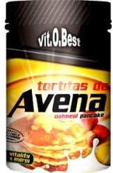 Tortitas de Avena en Polvo- Combinado de Carbohidratos Proteínas y Vitaminas - Suplementos Deportivos y Suplementos Alimentación - Vitobest (Vainilla ...
