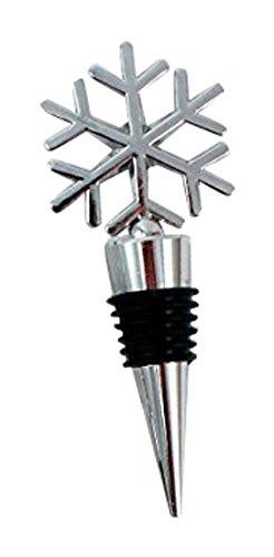 - 1 X Weddingstar 6096 Snowflake Shaped Wine Stopper