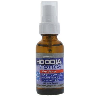 HOODIA FORCE (Oral Spray) 20:1 extrait, 1 fl oz - L'appétit de Hoodia Oral Spray Suppressant