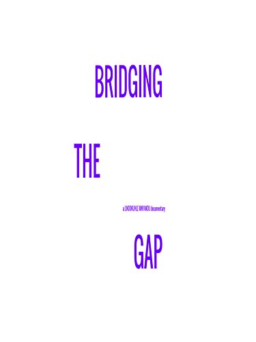 Bridging the Gap by