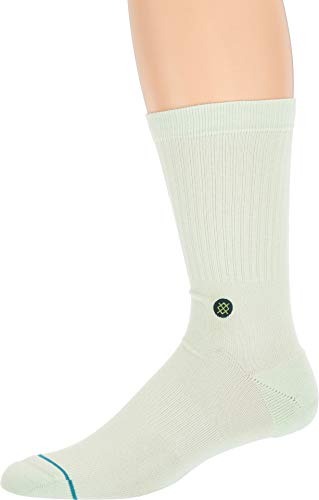 Male Icon - STANCE Men's Icon Socks, Mint, Green, Large