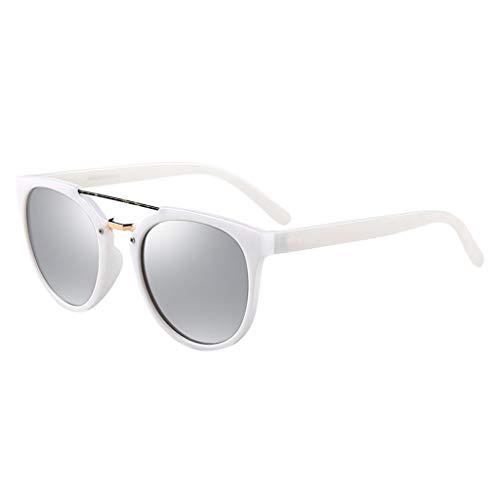 à Lunettes B rétro Couple modèles Conduite de Femme Double Miroir lunettes de Faisceau Des Couleur C soleil Nouvelles Soleil Femmes de Sport pour de polarisées nSYzxqZw