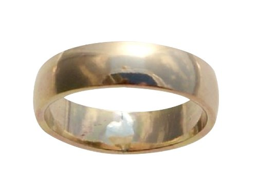 6mm 14K Gold Filled Plain Band Midi Above The Knuckle Toe Ring (3.5) by California Toe Rings
