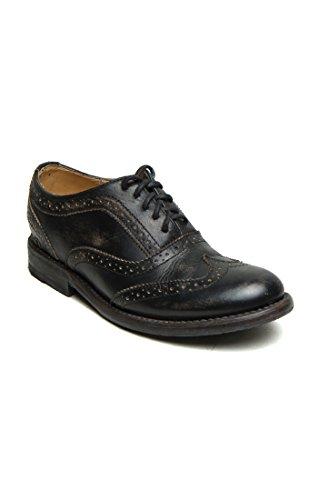 Bed Stu Women's Lita Oxford Black Handwash Shoe - 8.5 B(M) US