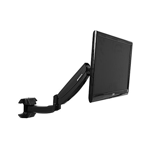 24' Lcd Monitor Swivel - Full Motion Gas Spring Wall Mounts Monitor Arm Fits Most 10''-24'' TV LCD Monitor (DW5)