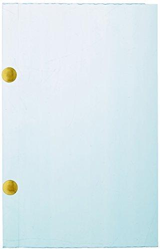 Quantum Storage Systems LBL5X8CO Conductive Label Holder for Dividable Grid Container DG92080, DG93080, DG93120, Clear, 6-Pack ()