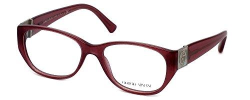 GIORGIO ARMANI Eyeglasses AR 7016H 5157 Cherry Fabric Effect 53MM
