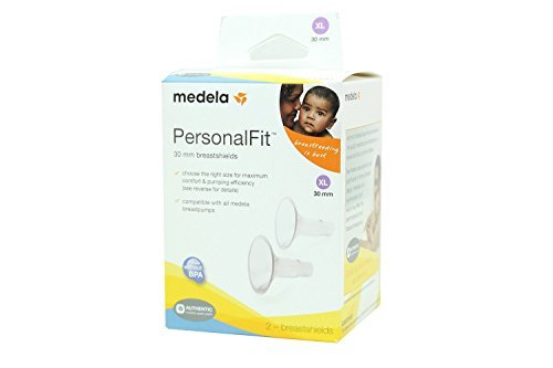 Medela PersonalFit Breastshields (2), Size: X-Large (30mm) in Retail Packaging (Factory Sealed) #87075 (Medela Nipple Shields)