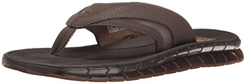 Reef Mens BOSTER Flip-Flop Brown e6RC07
