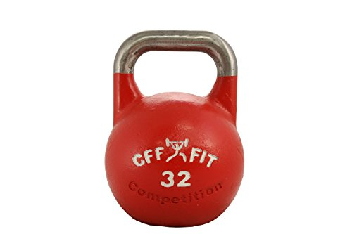 CFF 32 kg Pro Competition Russian Kettlebell (Girya) Great for Cross Training and MMA Training