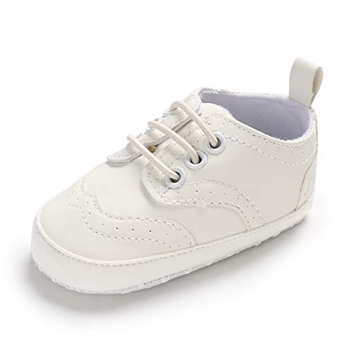 (Infant Baby Classic England PU Leather Soft Soled Anti-Slip Toddler Shoes)