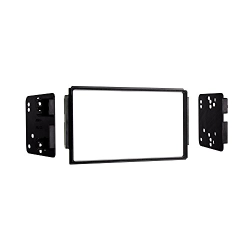 Metra 95-1006 ISO Double DIN Dash Kit for Select Kia Sorento EX 2003-2006 with Factory Sport Package (Black) (1006 Car)