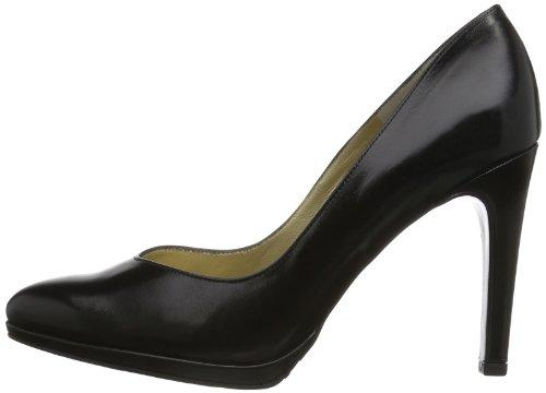 Para schwarz Peter Mujer Chevro Negro Cerrada Kaiser 100 Tacón Zapatos Con Herdi De Punta 100 F8wFPq