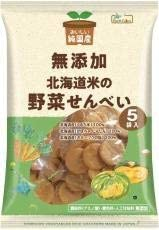 ノースカラーズ 北海道米の野菜せんべい 15g×5袋