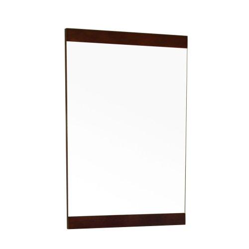 Bellaterra Home 804381-MIRROR 19.7-Inch Mirror, Dark Walnut, Wood