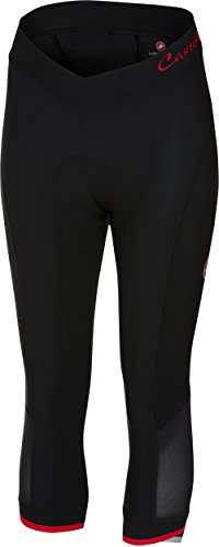 Castelli Vista Knicker - Women's Black/Red, XL by Castelli (Image #1)
