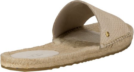 Ugg Australia Women's Cherry Exotic Sandals Woman Cream In Size 38 Beige