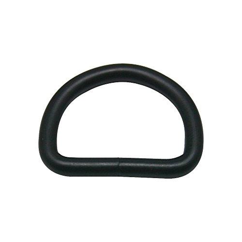Metal D Ring Buckle Black 1