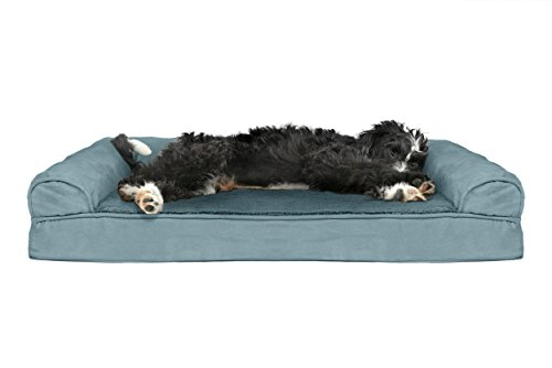 Furhaven Pet Dog Bed | Cooling Gel Memory Foam Orthopedic Ul