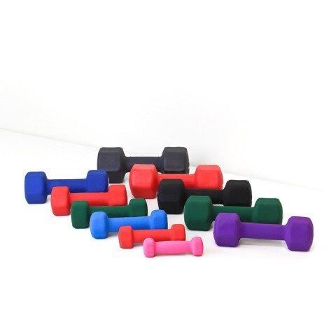Element Fitness E-200-NEO2 Neoprene DumbBells44; 2 lbs.